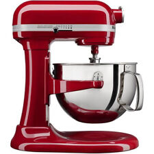 Kitchenaid Pro 600 Red Stand Mixer 6-qt Super Large Capacity w/Pouring Shield