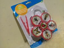 Back Yard 3pc Insect Cage Bug Tools Hexapod w/Catching Tools for Little Critters