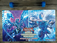 2020 YuGiOh Trishula, of the Ice Barrier & Blue-Eyes Chaos MAX Dragon Playmat