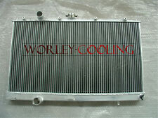 FOR 1997-2000 MITSUBISHI LANCER EVO 4/5/6 IV V VI MT 42MM ALUMINUM RADIATOR
