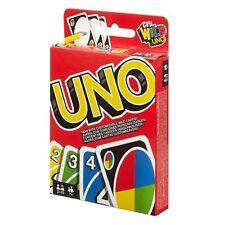 Mattel Games UNO Gioco di Carte 2-10 Giocatori W2087 Prodotto Originale Nuovo