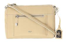 b7d8fab266 Lauren Ralph Lauren Women s Straw Tan Paley Leigh Medium Crossbody Purse Bag  Re