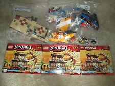 LEGO NINJAGO FIRE TEMPLE - #2507 - COMPLETE WITH INSTRUCTIONS - NO BOX