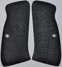 CZ 97 97B pistol grips checker pattern graphite black plastic