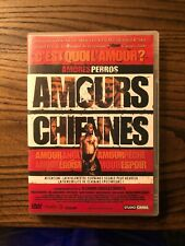 Amours Chiennes Amores Perros Dvd Pal