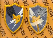 US Army Security Agency ASA MI Military Intelligence Dress uniform patch m/e