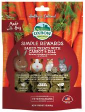 Oxbow Simple Rewards Baked Treats Carrot & Dill