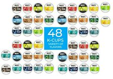 Variety Pack for Keurig K-Cup 48 Count. Mauds Flavored K-Cups, Coffee Pods