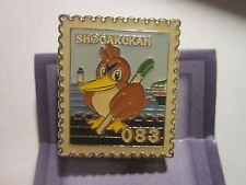 1998 Pokémon Metal Stamp Badge Pin FARFETCH'D from Japan  clip and stand