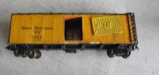 Vintage Oo Ho Scale Wood Metal Great Northern Boxcar