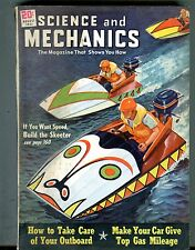 Science And Mechanics Magazine August 1951 Buikd The Skeeter Boat 070117nonjhe