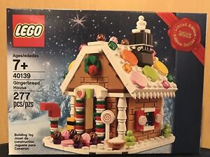 Lego 40139 2015 Limited Edition Holiday Gingerbread House Retired Set New