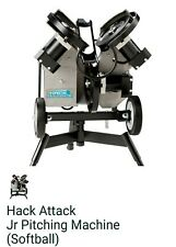 Junior Hack Attack Softball 3 Wheel Pitching Machine - Brand New!
