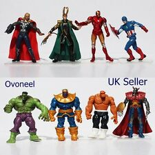 8PCs Marvel Comics Avenger 3 Infinity War THANOS LOKI Hulk Action Figure New