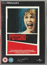"""Alfred Hitchcock's  Psycho """"2 disc-set""""  Region 2 DVD very good used condition"""