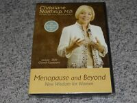 NEW Menopause and Beyond: New Wisdom for Women DVD Christiane Northrup MD Sealed