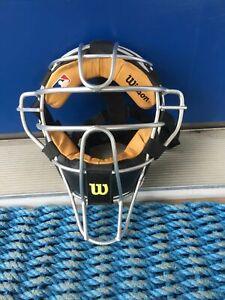 Wilson Aluminum Umpire Mask