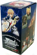 FATE ZERO Weiss Schwarz TCG ENGLISH Booster Box IN STOCK