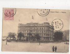 Grand Hotel Naples Napoli Italy 1913 Postcard 549b
