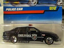 Hot Wheels Police Car #875 Black State Police