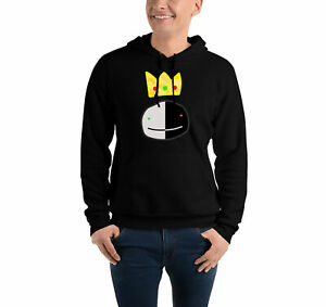 Ranboo Crown Dream Mens Kids Hoody Funny SMP Dreamer Youtuber Merch Hooded Gift