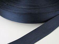 1 inch 25 feet military NAVY BLUE nylon binding lightweight webbing
