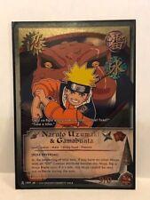 Naruto Uzumaki & Gamabunta [Role Reversal]#c009 Super Rare Foil Naruto CCG NM/MT