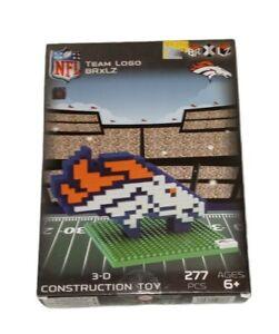 NFL Denver Broncos BRXLZ Team Logo 3-D Puzzle Construction Toy