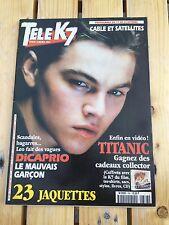 Musique - Télé K7 magazine - Di Caprio, Titanic, jaquette - N°788
