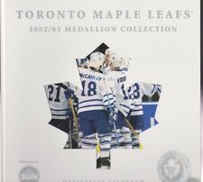 Toronto Sun Newspaper TORONTO MAPLE LEAFS 2002-2003 Medallion Collection Holder