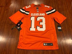Nike Men's Odell Beckham Jr Cleveland Browns Orange Limited Jersey Medium M NFL