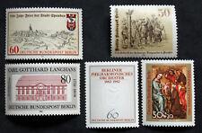 Sello BERLIN Stamp (ALEMANIA) - 5 sellos de 1982 n (Cyn27)