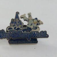 Disney WDW Where Dreams Come True Donald & Goofy Pin