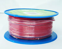 SINGLE CORE 3mm 30M RED WIRE CABLE 10 AMP CARAVAN TRAILER 4X4 AUTOMOTIVE 12V