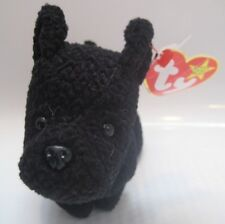 e17abfe9b01 HTF TY BEANIE BABY 1996 Scottie SCOTTISH TERRIER DOG 15 ERRORS PVC PELLET  RETIRE