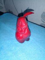 Rare Vintage Royal Doulton Flambe  Lop Eared Rabbit Figure Signed Charles Noke