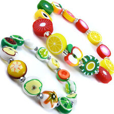1 x Kid's Cool Fruits Apples Beads Fashion Cute Friendship Bracelet  WB83