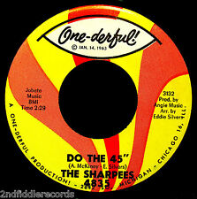 THE SHARPEES-Make Up Your Mind & Do The 45-Doo Wop-Vocal Soul 45-ONEDERFUL #3133