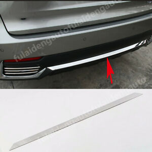 For Lexus NX200t NX300h 2017-2021 Stainless Rear bumper Protector cover trim