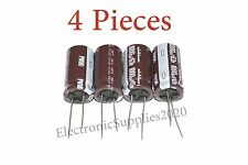 4 pcs Capacitor Nichicon 1000uF 63v 105C 16x31.5mm. Radial. US Seller