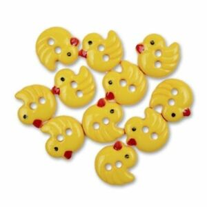 Chirp Duck Blumenthal Lansing Favorite Findings Buttons 10 Buttons Per Package
