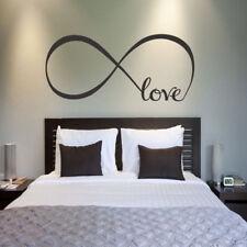 NEU Haus Wohnzimmer Schlafzimmer Dekoration Tapeten Wandbilder 60*22cm LOVE