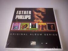 ESTHER PHILLIPS - ORIGINAL ALBUM SERIES 5 CD SET NEW SEALED 2016 WARNER