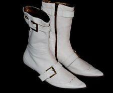 Gianmarco Lorenzi Soft Leather Ankle Boots Italy 36 (run true by size)