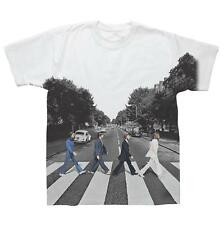 OFFICIAL LICENSED - THE BEATLES - ABBEY ROAD SUBLIMATION T SHIRT LENNON