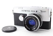 N-Mint🌟 Olympus Pen FV Half Frame Film + Zuiko Auto-S 38mm F/1.8 Lens fromJapan