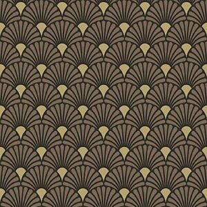 20 Paper Party Napkins Art Deco Black Pack of 20 3 Ply Luxury Tissue Serviettes