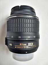 Nikon NIKKOR 18-55mm f/3.5-5.6G VR AF-S Lens
