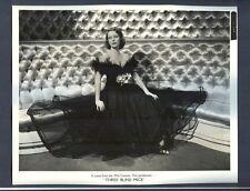 EARLY SEXY LORETTA YOUNG - FANTASTIC PORTRAIT - NEAR MINT 1938 PHOTO