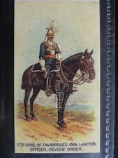 No.15 2nd DUKE OF CAMBRIDGE LCR Types of the British Army REPRO of Wills/Capstan